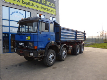 Benne camion Iveco 340 34 8x4 Magirus