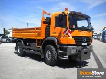 Benne camion Mercedes-Benz Axor 1833 AK,4x4: photos 1