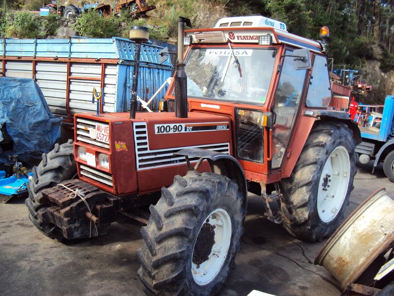 tracteur agricole fiat 130 90dt marque fiat année de production 1990