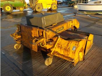 Sutton Hydraulic Sweeper Attatchment to suit Forklift - brosse