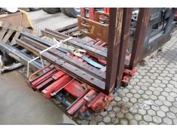 Fourches AURAMO KS25FBK DOUBLE PALLET CLAMP
