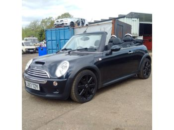 Mini Cooper S Convertible Automatic Low miles Sat Nav Air Con - voiture