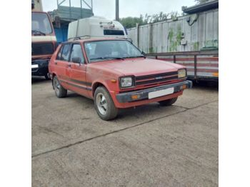 TOYOTA Starlet KP61 left hand drive 1.3S Rear Wheel Drive - voiture