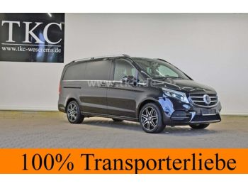 Minibus Mercedes-Benz V 250 d lang AVANTGARDE Edition AMG 4X4 #58T214: photos 1