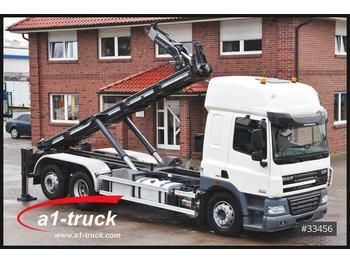 Camion ampliroll DAF 85.460 CF, Intarder,  Velsycon Siloaufsteller, K