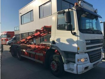Camion ampliroll DAF CF85-410 6X2 MANUEL GEARBOX