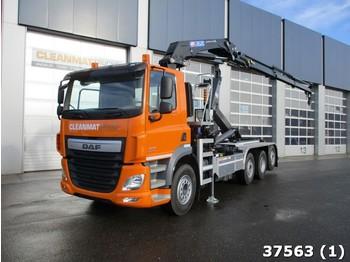 Camion ampliroll DAF FAQ CF 460 8x2 Euro 6 HMF 26 ton/meter laadkraan