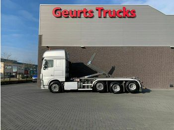 Camion ampliroll DAF XF 106.460 8X2 TRIPLE SUPER SPACE CAB + VDL HAAK