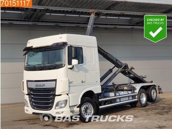 Camion ampliroll DAF XF 460 6X2 SC Intarder ACC 2x Tanks Liftachse