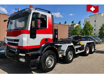 Iveco 410T50 Trakker   8x4  - camion ampliroll