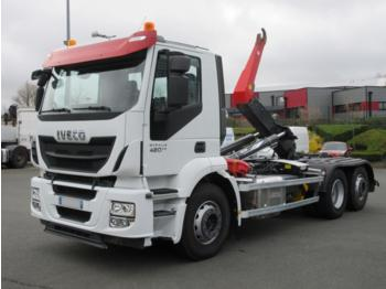 Iveco Stralis 420 - camion ampliroll
