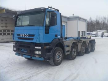 Iveco Trakker 410 t 50 10x4 - camion ampliroll