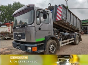 MAN 18.232 container - camion ampliroll