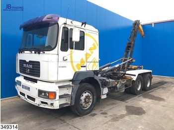 Camion ampliroll MAN FE 460 6x4, Manual, Steel suspension