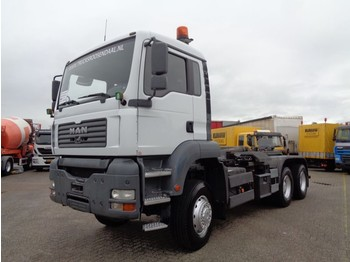 Camion ampliroll MAN TGA 26.390 + Manual + Hook system 6x6