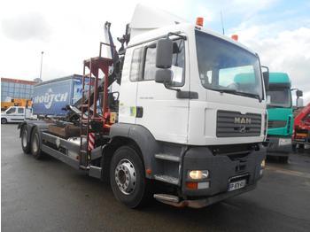 Camion ampliroll MAN TGA 28.390