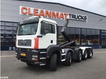 Camion ampliroll MAN TGA 35.480 10x4 Hiab 30 ton's haakarmsysteem