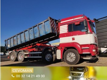 MAN TGA 37.440 8x4 Containerhaaksysteem / container euro4 - camion ampliroll