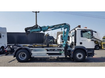 Camion ampliroll MAN TGM 18.340