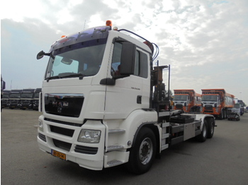 Camion ampliroll MAN TGS 26-360 6X2-4 BL