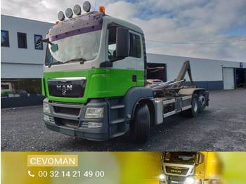 MAN TGS 26.360 Containersysteem - camion ampliroll