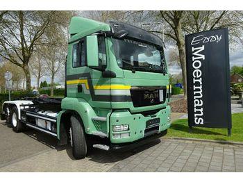 Camion ampliroll MAN TGS 26.480 6x2-2 Abroller