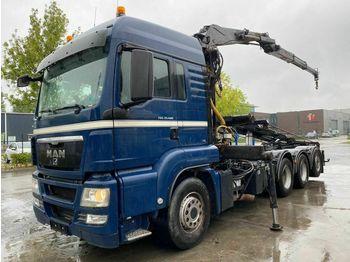 Camion ampliroll MAN TGS 35.480 MANUAL EURO 4 - ONLY 291.219 km + LIV