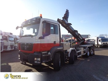 Camion ampliroll MAN TGS 440 + Manual + Euro 5 + PTO + Hook system + 8x4 HydroDrive