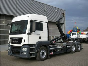 Camion ampliroll MAN TG-S 26.440 BL 6x2 Abrollkipper Lift+Lenkachse