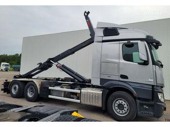 Camion ampliroll MERCEDES-BENZ Actross 2551 6x2