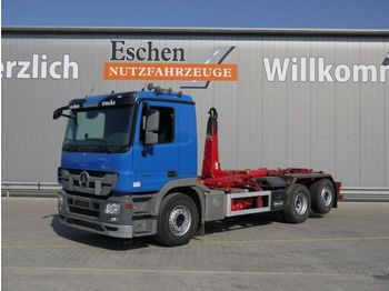 Camion ampliroll Mercedes-Benz 2544 L, 6x2, Meiller RK 20.65, Klima, Bl/Lu