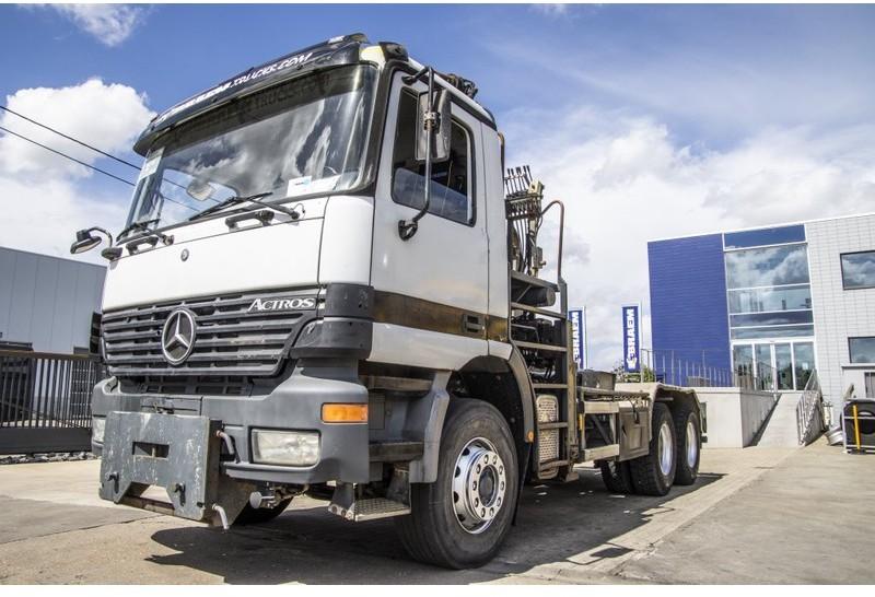 camion ampliroll Mercedes-Benz ACTROS 2635 K - ATLAS 170.2