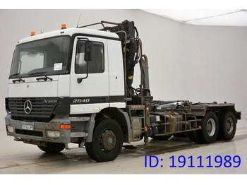 Camion ampliroll Mercedes-Benz Actros 2640 - 6x4