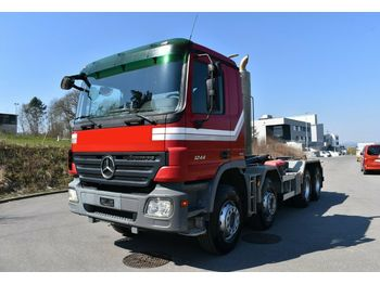 Camion ampliroll Mercedes-Benz Actros 3244 8x4 Hakengerät