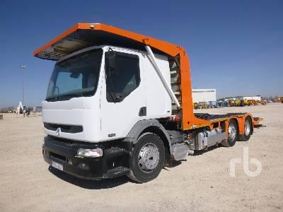 camion ampliroll RENAULT 420.18 4x2
