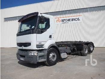 Camion ampliroll RENAULT PREMIUM 420DCI 6x2