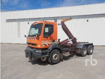 Camion ampliroll RENAULT PREMIUM 6x4