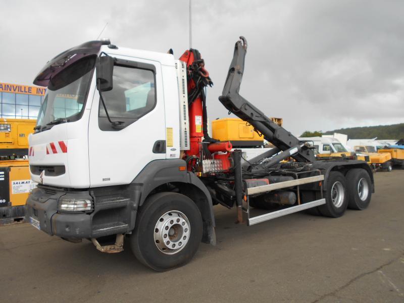 camion ampliroll Renault Kerax 340