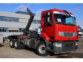 Renault PREMIUM LANDER 450 DXI (10 ROUES/TIRES)+INTARDER - camion ampliroll