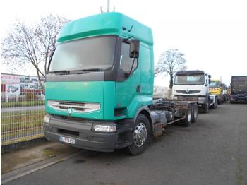 Camion ampliroll Renault Premium 420