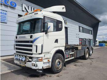 Camion ampliroll SCANIA 164 6x2