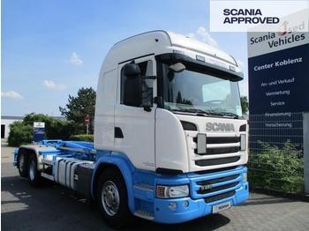 Camion ampliroll SCANIA G450 LB 6X2*4 HNA - VDL Abrollkipper - SCR ONLY