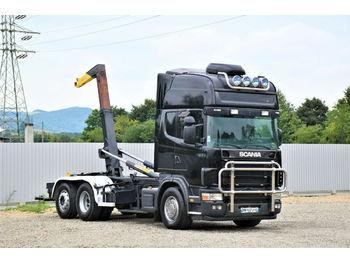 Camion ampliroll Scania 164 L - 480 Abrollkipper 5,30m* Top Zustand!