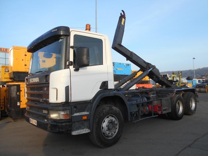 camion ampliroll Scania C 114C380