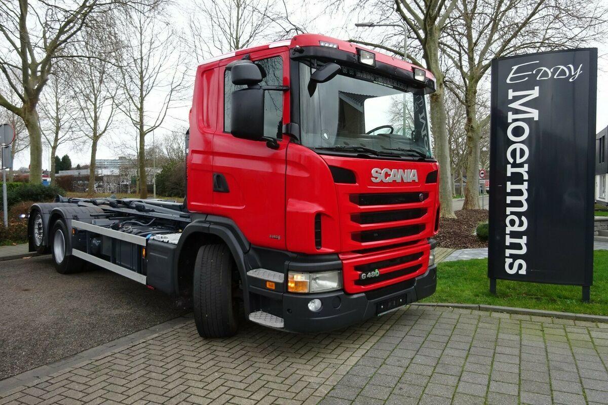 camion ampliroll Scania G480 6x2 EURO 6