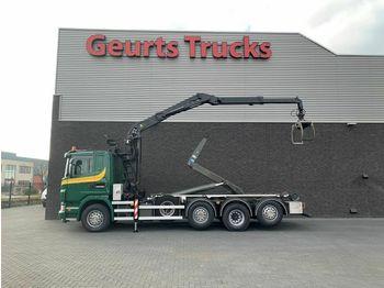 Camion ampliroll Scania G 440 8X2 HAAKARMSYTEEM+ PALFINGER EPSILON Z KRA