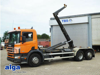 Camion ampliroll Scania P114GB 6x2, 340PS, Meiller RK 20.65,Standheizung