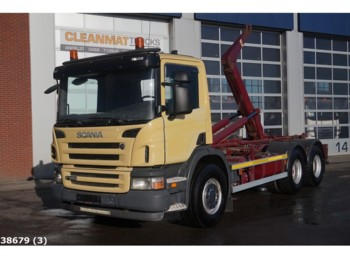 Scania P 380 6x4 Manual Steel - camion ampliroll