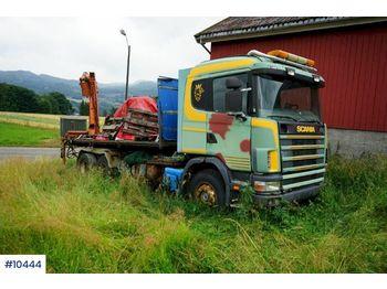 Camion ampliroll Scania R144