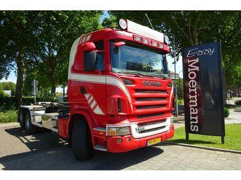 Camion ampliroll Scania R480 6x2 Hakenabroller